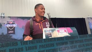 Josh Jacobs is top running back in NFL draft