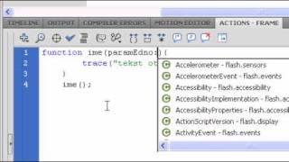 ActionScript 3 Урок 11 - запознаване с функциите/function