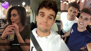 Gaz Beadle on Snapchat | Ft Emma McVey and Jordan Davies | October 20 2016