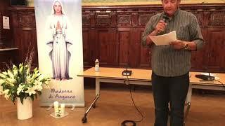 Mensagem de Nossa Senhora de Anguera, 17/10/2018