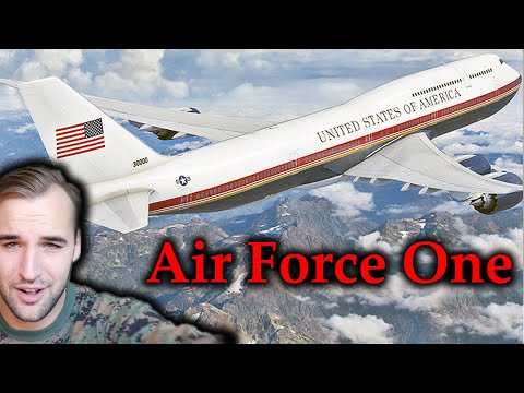 Estonian Soldier reacts to Air Force One