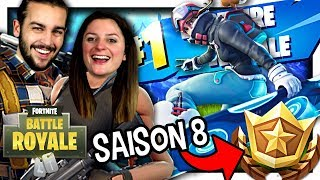 TOP 1 WITH THE AEROPLANCHE - SAISON COMBAT PAS8 FREE! FORTNITE DUO EN