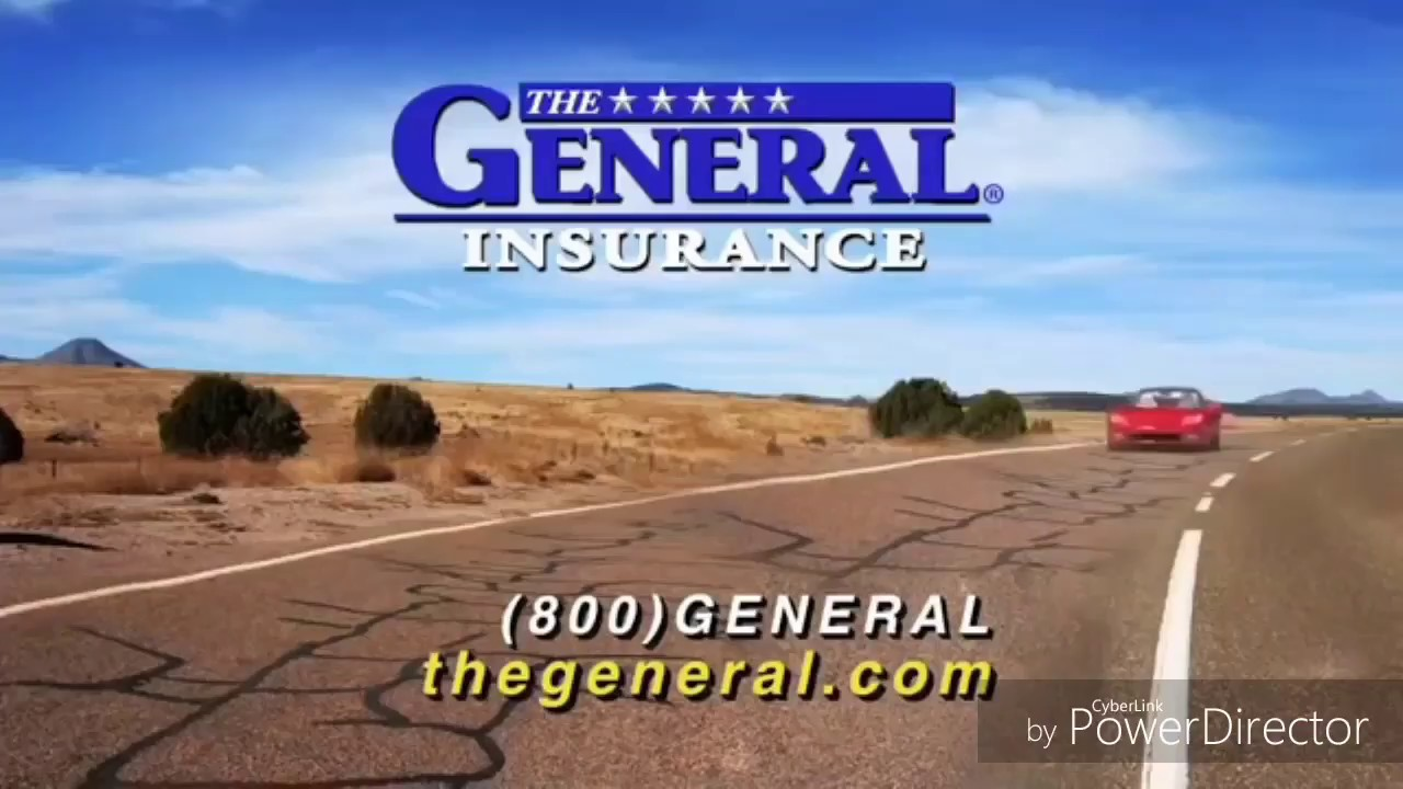 Average Car Insurance >> The General car insurance commercial, the General 1 second ...