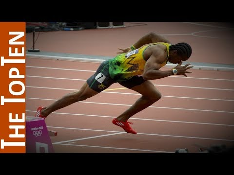 The Top Ten Fastest Men Of All Time (200 meters)