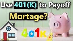 Should I Use My 401(K) to Payoff Mortgage? When to Use 401(K) to Payoff Mortgage if Retired
