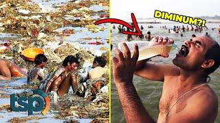 Download Mp3 Dianggap Sebagai Sungai Paling Tercemar Begini Penakan Sungai Gangga Saat ini