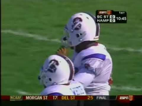 2007 South Carolina St  vs Hampton University
