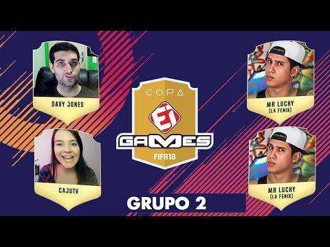 Davy Jones x Mr Lucky e CajuTV x Mr Lucky - COPA EI GAMES DE FIFA 18