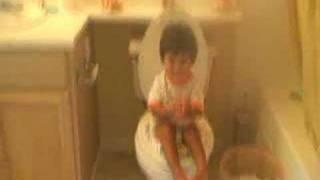 elijah stevens potty @ 15 months.