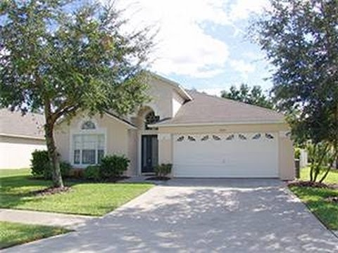 ORLANDO AREA typical holiday home villa rental property Florida VIDEO