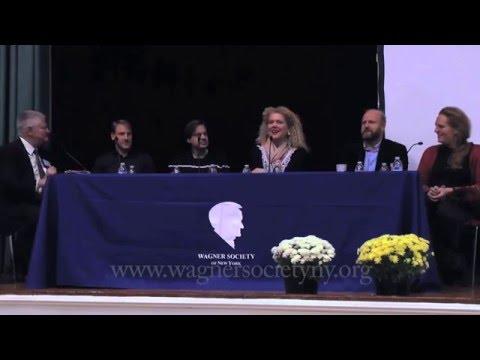 Met Cast Roundtable, WSNY Tannhäuser Seminar, Oct. 25, 2015