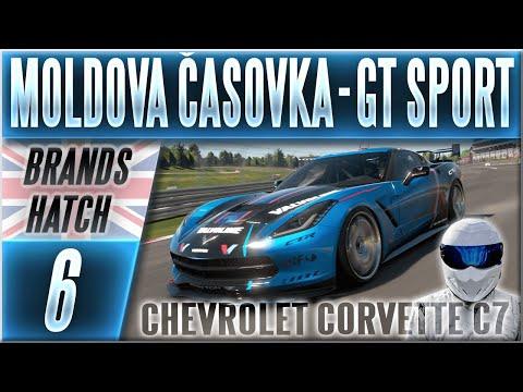 Moldova Časovka | #6 | Chevrolet Corvette C7 GR4 - Gran Turismo Sport CZ (Brands Hatch)