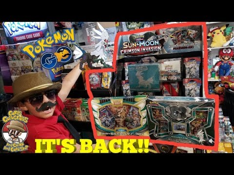 BIGGEST CRIMSON INVASION PRODUCT OPENING!! Catching Your Favorite Pokemon At Carls #16! SILVALLY!!