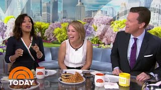 Watch Sheinelle Jones And Dylan Dreyer Get Mother's Day Messages From Their Kids   TODAY