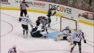 Evgeni Malkin Amazing Deke and Goal (Pittsburgh vs Colorado 11/15/11)