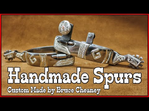 Handmade Spurs - Metal Working - Silver...