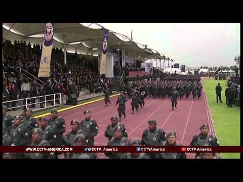 Mexico government launches its new federal police force