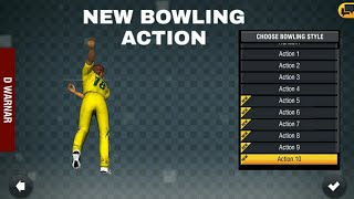 Wcc2 - New Bowling Action