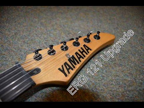 Yamaha ERG 121 Customise / Upgrade Project - YouTube