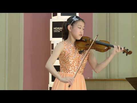 CLARA SHEN  Menuhin Competition 2018 Junior semi-finals