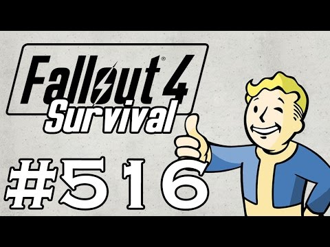 Let's Play Fallout 4 - [SURVIVAL - NO FAST TRAVEL] - Part 516 - Mass Pike Tunnel