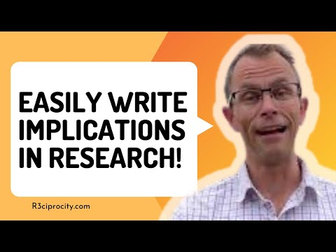 How To Write Policy Implications In PhD Research (u0026 What Are Practical Implications In Research?)