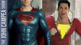 Are Superman Confirmed In Shazam Reports Legit - The John Campea Show