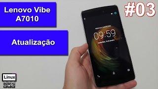 Lenovo Vibe A7010 - Atualização 102 para 105 - Português