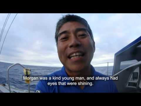 D19 : Support message from Kojiro Shiraishi for Morgan Lagravière / Vendée Globe