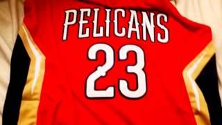 ANTHONY DAVIS NBA JERSEY FROM DHGATE. CHEAP!