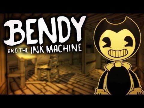Bendy And The Ink Machine بيندي وآلة الحبر Youtube