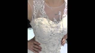 Свадебное платье с буфами