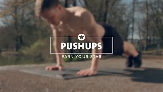 Earn your star - how to do Pushups right