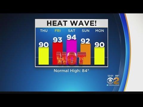 We're Having A Heatwave!