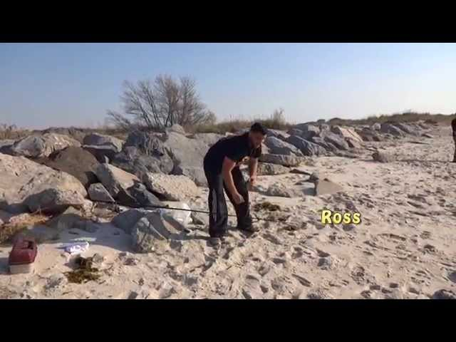 Surf Fishing with Slap Jackson May 15, 2015