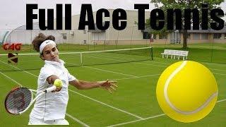 NOUVEAU JEU DE TENNIS!: Full Ace Tennis Simulator ! Test