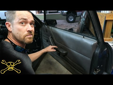 How To Clean The Sticky Icky Off Old Interior Panels