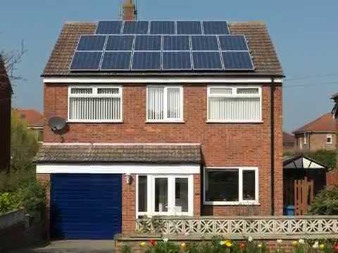 Using Solar PV (Photovolatic) Panels to Generate Electricity