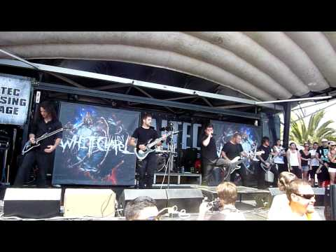 Whitechapel-Of Legions Intro+Darkest Day of Man Warped Tour 2010 HD