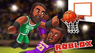 Roblox | NBA BASKETBALL - Celtics vs Lakers! (RB World 2)
