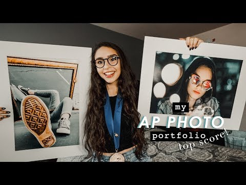 my AP studio art portfolio (photography + top score!)