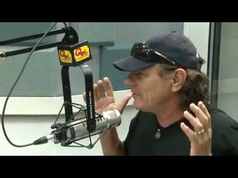 AC/DC's Brian Johnson In-Studio Q104.3 about  his book