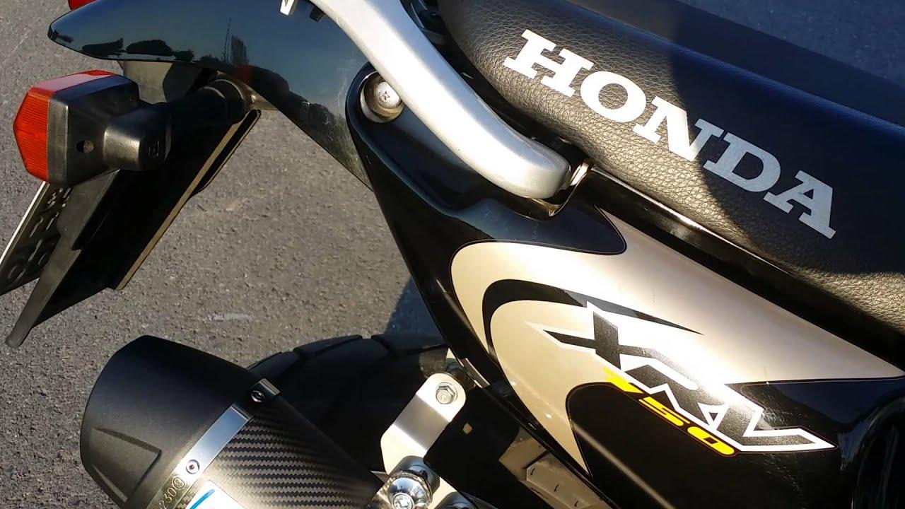 Honda XRV 750 Africa Twin LeoVince Carbon - YouTube