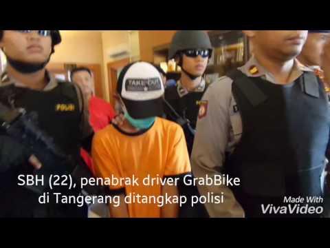 """Ini Sopir Angkot yang Tabrak Ojek """"Online"""" di Tangerang"""
