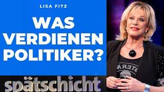 Lisa Fitz rechnet nach: Politikergehälter