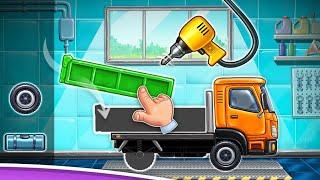 Kamyon oyunları - Truck games - build a house, car wash  - roid Gameplay