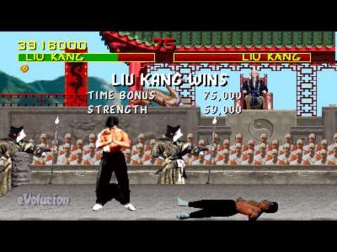 Mortal Kombat Arcade - Liu Kang Run-through