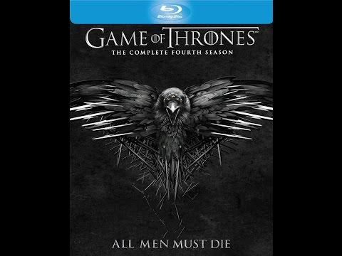 Game of thrones season 4 bluray unboxing