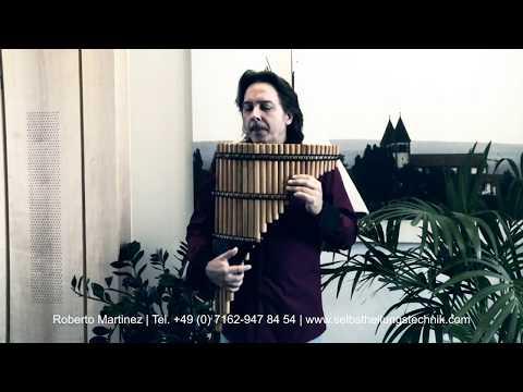 Panflötenmusik die verzaubert- mit Kammerton A in 432 Hz - Roberto Martinez TTD 31.10.2017