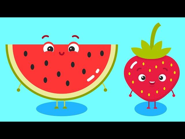 Meyveleri Yiyelim Şarkısı - AfacanTV Çocuk Şarkısı